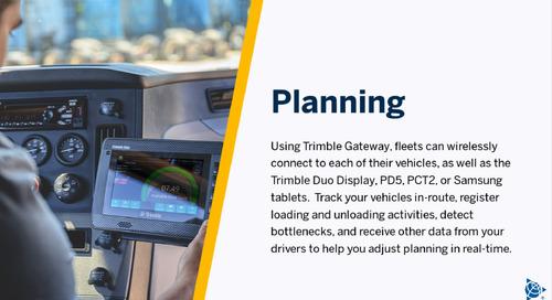 Trimble Gateway Overview Video