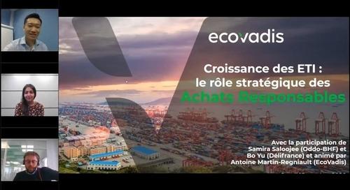 Croissance des ETI: le rôle stratégique des Achats Responsables - Délifrance et Oddo BHF témoignent