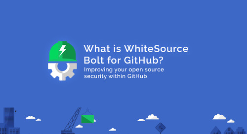 WhiteSource Bolt for GitHub