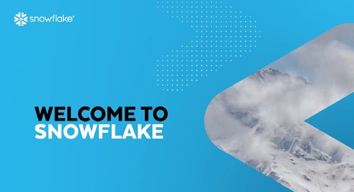 Welcome to Snowflake