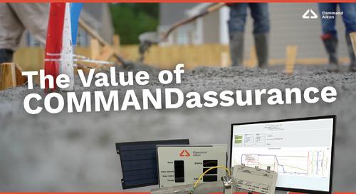 The Value of COMMANDassurance