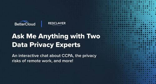 Ask Me Anything with Two Data Privacy Experts