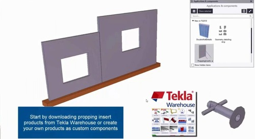 Sneak Preview of Tekla Software 2018 for Precast Concrete