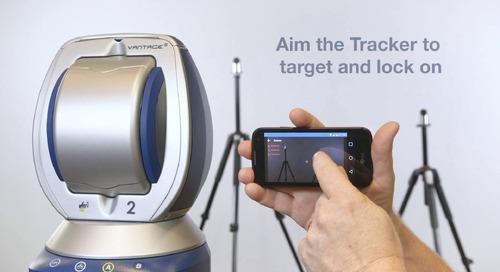 RemoteControls & gestures demo on Vantage S & E Laser Trackers
