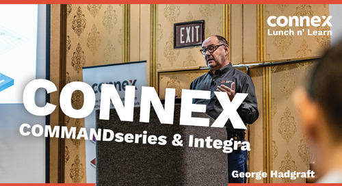 How CONNEX integrates with COMMANDseries and Integra