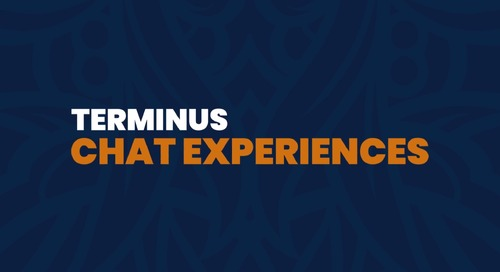 Terminus Feature Overview: Chat Experiences