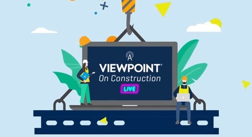 A Viewpoint On Construction Live - May 20, 2020