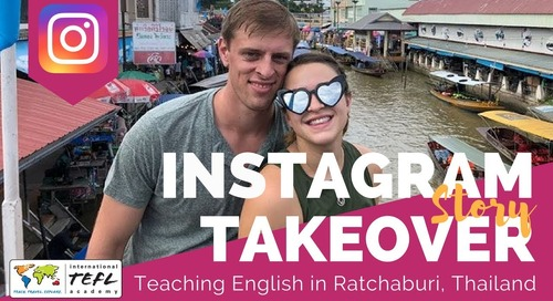 Day in the Life Teaching English in Ratchaburi, Thailand with Adrianna Stuart
