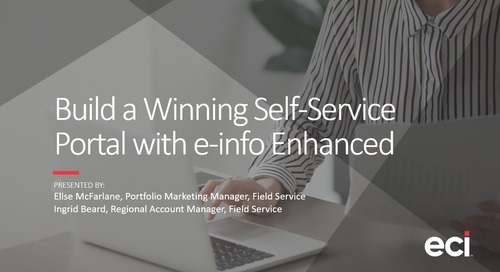 Build a Winning Self-Service Portal with e-info Enhanced