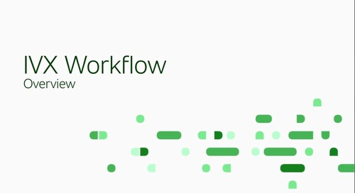 IVX Workflow Overview