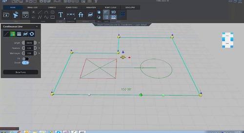 Snaps & grips in FARO Zone 3D
