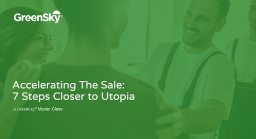 MasterClass | Accelerating the Sale - 7 Steps Closer to Utopia