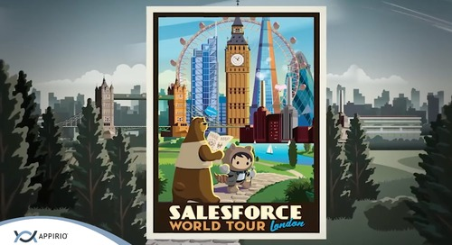 Appirio @ The Salesforce World Tour London 2018