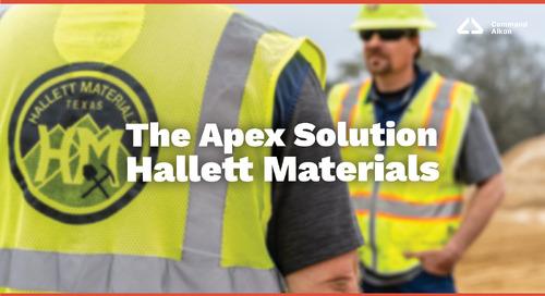 The Apex Solution | Hallett Materials