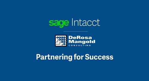 Sage Intacct Partner DeRosa Mangold || Mike DeRosa