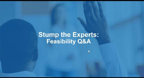 WCG Institute - Stump the Feasibility Experts