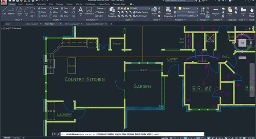 AutoCAD 2020 Feature Demo: Quick Measure