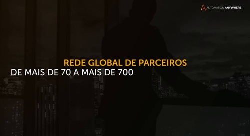 Automation Anywhere 2018 - Overview - Portuguese Brazilian