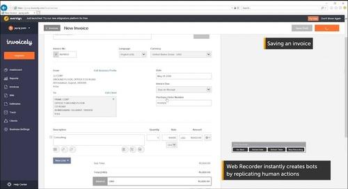 RPA Demo: Invoicing Process