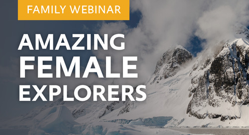 Family Webinar: Women in Antarctica