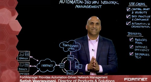 Automation Driven Network Management Lightboard
