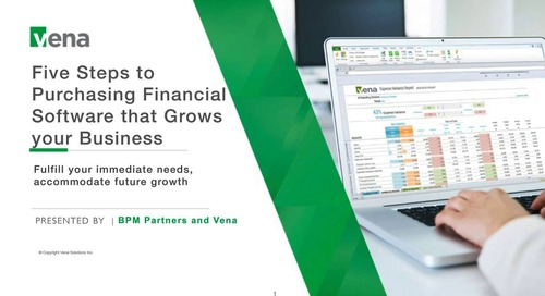 Five Steps to Purchasing Financial Software that Grows your Business