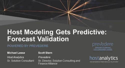 Host Modeling Gets Predictive