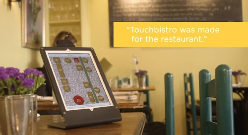 Table D'Hote - TouchBistro Customer Spotlight