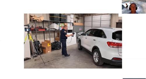 Cómo utilizar escáneres 3D de mano para la documentación de escenas de crímenes y accidentes [webinar]