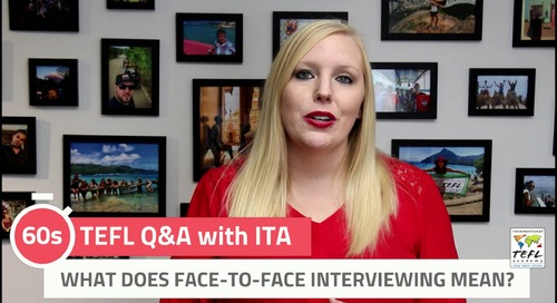 What Does Face-To-Face Interviewing Mean? - TEFL Q&A with ITA