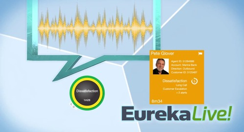 Real-Time Performance Monitoring with Speech Analytics with EurekaLive