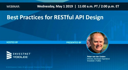 On-Demand Webinar: Best Practices for RESTful API Design