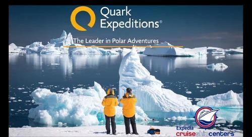 Expedia CruiseShipCenters - Introducing the Leader in Polar Adventures, Quark Expeditions