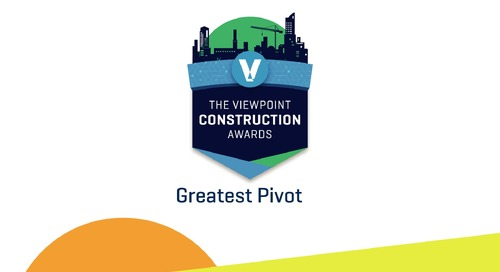 2020 Viewpoint Construction Award Winner - Haugland Group