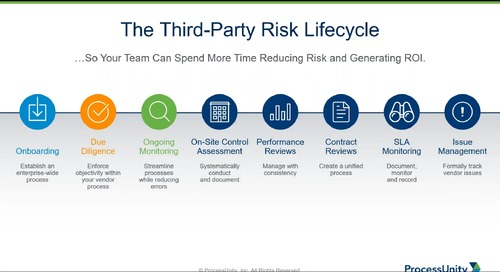 Webinar Replay: The Power Your Third-Party Risk Program Can Deliver in Challenging Times