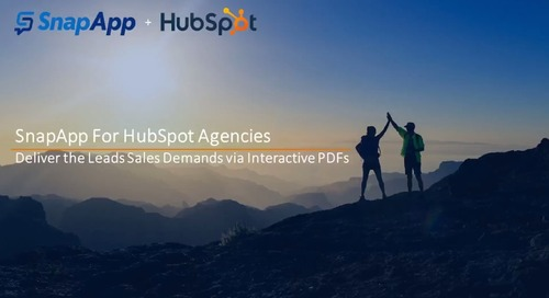 SnapApp for Agencies: How to Turn PDFs into Leads Your Clients Will Love