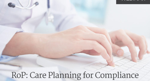 RoP: Care Planning for Compliance