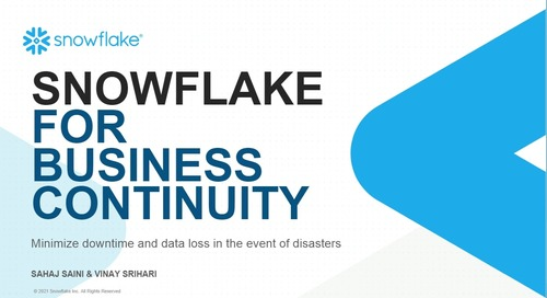 Best Practices to Protect Data and Productivity with Business Continuity
