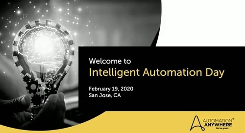 Automation Anywhere Presents Intelligent Automation Day