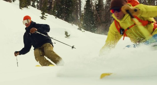 Could Skis Created From Biobased Material Mean a Cleaner Future for Snow Sports?