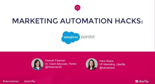Marketing Automation Hacks: Pardot