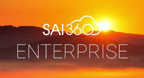 SAI360 for integrated enterprise risk management