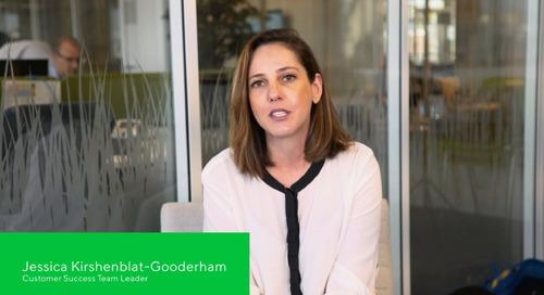 Jessica Kirshenblat-Gooderham, Customer Success Team Leader