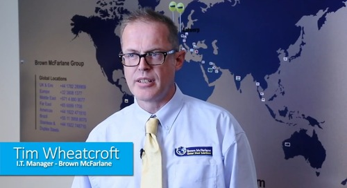 Customer Case Study Video: Brown McFarlane