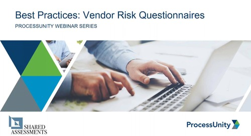 Vendor Risk Assessment Best Practices