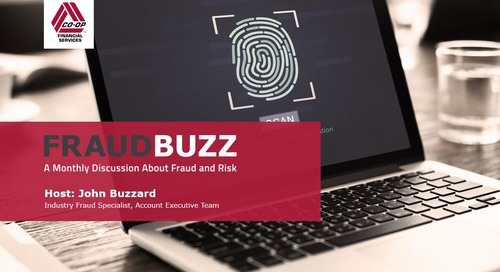 FraudBuzz Webinar - May 2017