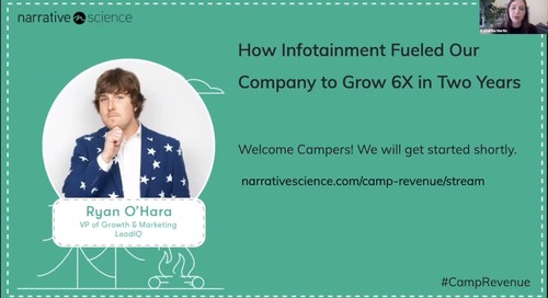 How Infotainment Fueled Our Company to Grow 6X in Two Years l Camp Revenue