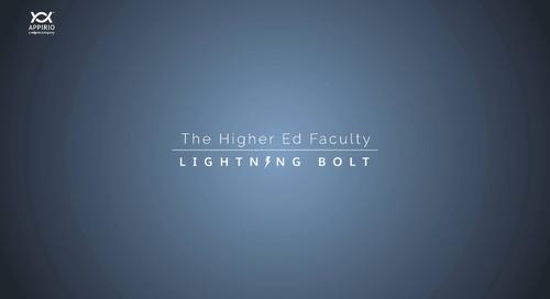 A Walkthrough of Appirio's Higher Education Faculty Lightning Bolt