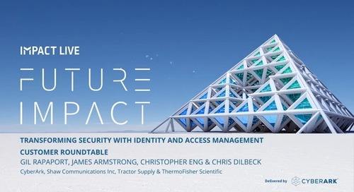 Transforming Security with Identity and Access Management