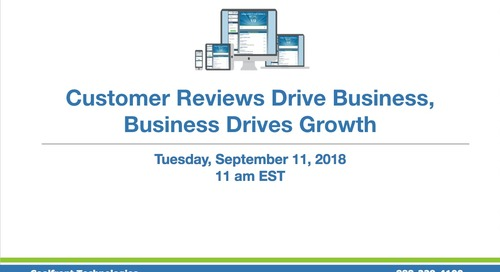 Customer Reviews Webinar With eTouch